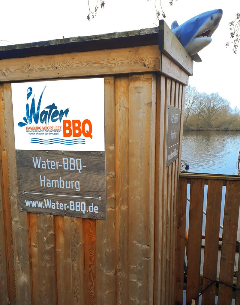 Water BBQ Toilette